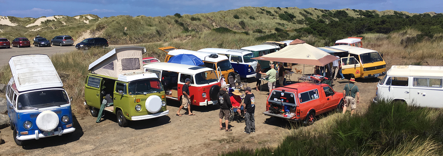 buses in the dunes